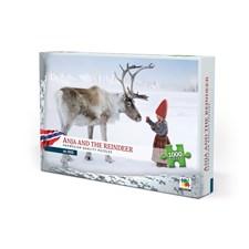 Pussel 1000 bitar, Anja And the Reindeer, Norway (NO/EN)