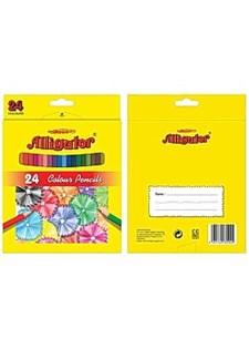 Färgpennor Alligator 24 Färger
