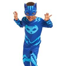 Maskeradkläder, Kattpojken 2-3 år, Pyjamashjältarna