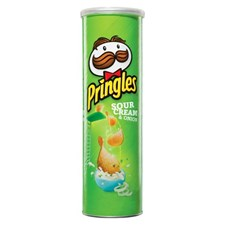 Pringles Sour & Onion, 190g