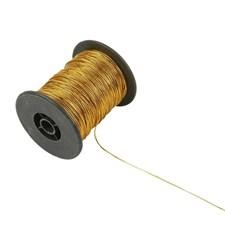 Tråd 0,5 mm x 100 m Guld