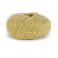 Dale Garn Erle Silk Mohair Mix 50 g Blekgul 9024