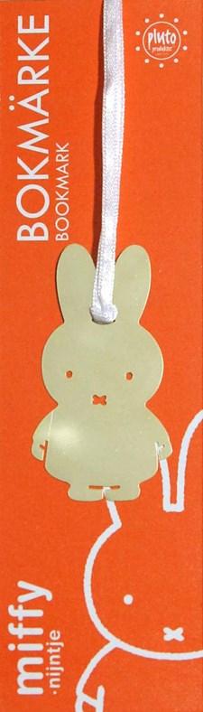 Bokmärke Miffy Guld