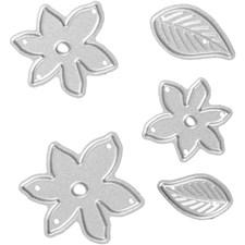 Kuvioterä, koko 2-5x1,2-5 cm, pikkukasvit, 1kpl