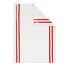 Kjøkkenhåndkle, Details, 50 x 70 cm, Kremhvit/Rød, IMK