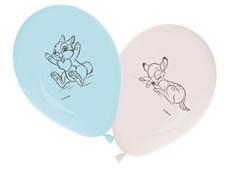 Baby Shower Ballonger, 8 st, Vit/Blå