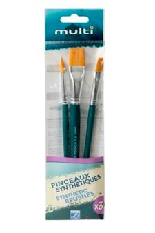 Penslar Syntet set 3-pack Lefranc & Bourgois