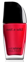 Wet n' Wild Wild Shine Nail Color - Red Red Kynsilakka