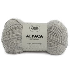 Adlibris Alpakkalanka 50g Light Grey A002