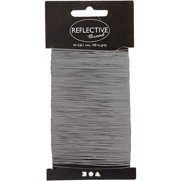 Tråd Reflex 0,8-1 mm 100 m Grå