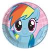 My Little Pony Rainbow Papptallrikar, 8 st