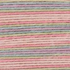 Rico Baby Cotton Soft Print DK Garn Bomullsmix 50g Teal-Pink 017