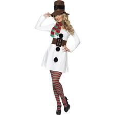 Kostyme Frøken Snømann