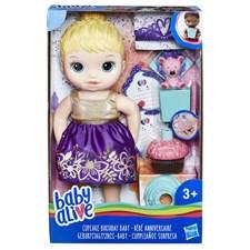 Cupcake Birthday Baby, Blonde, Baby Alive