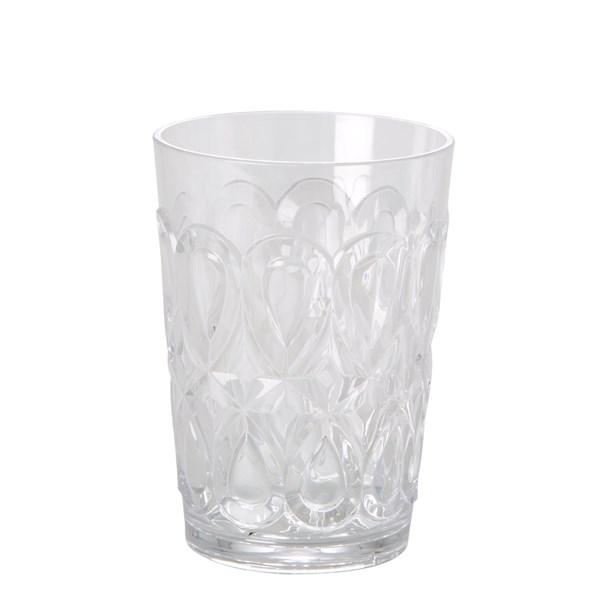 Rice Swirly Glas Akryl 50 cl Klar