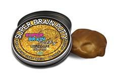 Gold Metallic Slime, 50 g, Slimy Super Brain Putty