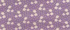 Stoff Blomster Fiolett 50/160 cm