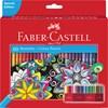 Fargeblyanter i etui 60 stk Faber-Castell