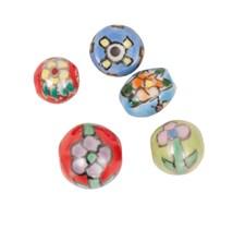 Keramikpärlor Mix 1, 5 st