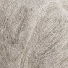 Brushed Alpaca Silk Drops design 25 g light grey 02