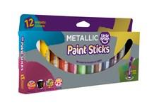 Paint Sticks Metallic, 12 färger, Little Brian