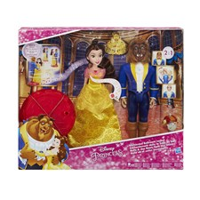Disney Princess Belle And Beast Transformation