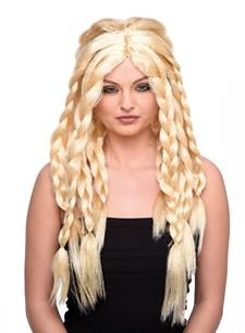 Parykk Blond Viking