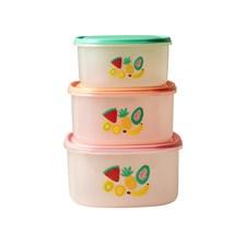 Rice Tutti Frutti Förvaringslådor 3-pack