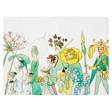 Elsa Beskow Collection Borstablett Blomsterparaden 30x40 cm 4-pack