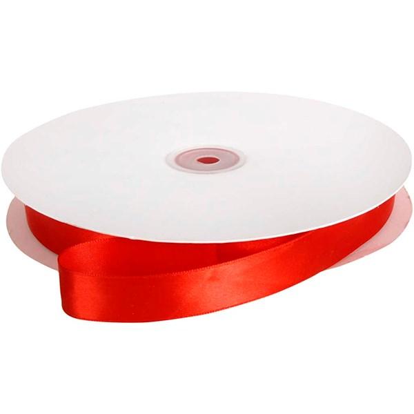 Sidenband 20 mm x 100 m Röd