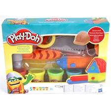 Snickarlåda, lera,, Play-Doh