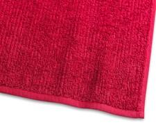 Borganäs of Sweden Stripe Terryn setti 100% puuvillaa punainen 4-pack