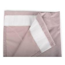Form Living Gardin Velvet med veckband Polyester 300x140cm Rosa