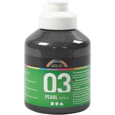 A-Color akryylimaali, 500 ml, musta