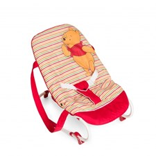 Vippestol Rocky, Pooh Brights Red, Hauck