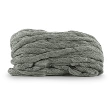 Knit At Home Chunky Wool Ullgarn 200 g Grå 933