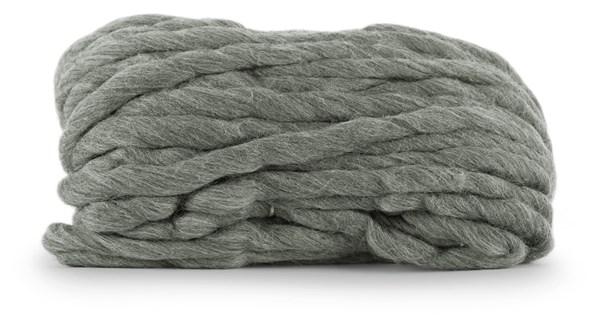 Knit At Home Chunky Wool Ullgarn 200 g Grå 933