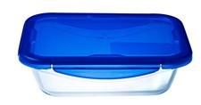 Pyrex Ugnsform Med Lock 1.7 l Glas