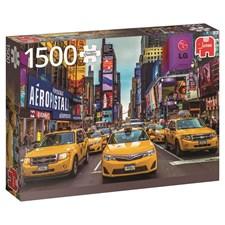 New York taxi, Pussel 1500 bitar, Jumbo