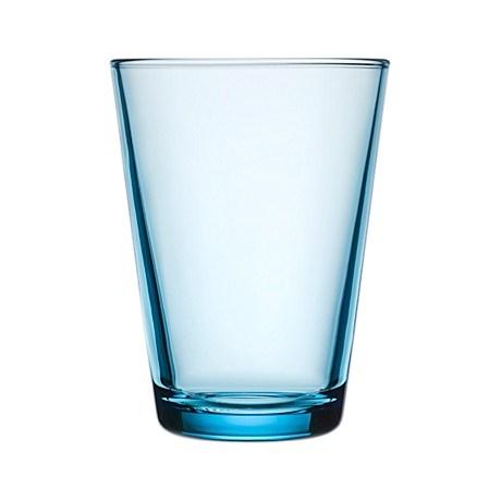 Iittala Kartio Glas 2-pack 40 cl Ljusblå - glas