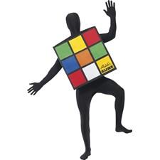 Rubiks Kube Karnevalskostyme