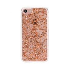 FLAVR Mobilskal Flakes för iPhone X Rosé