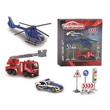 Internationella räddningsfordon och vägskyltar