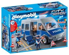 Trafikpoliser med skåpbil, Playmobil City Action (9236)