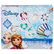 Skapa och dekorera din egen ljusslinga, Disney Frozen