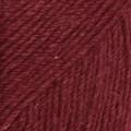 Drops Fabel Uni Colour Garn Ullmix 50g Rubinröd (113)