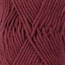 Merino Extra Fine Uni Colour Garn Merinoull 50 g Burgunder 48 Drops