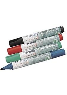 Whiteboardpennor Rund 4 Färger