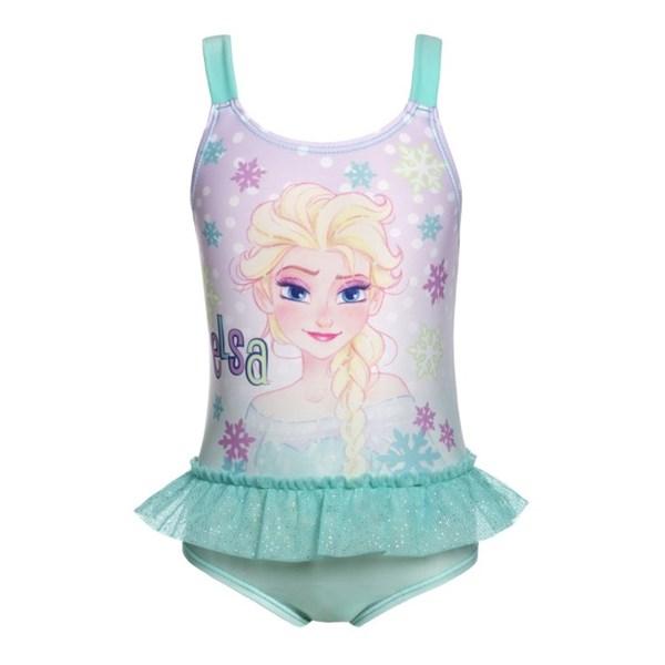 Baddräkt Frozen  strl 110 116  Disney - badkläder & uv-kläder