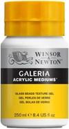 Galeria Akryl Medier Teksturgelé Glassperler Winsor & Newton 250 ml